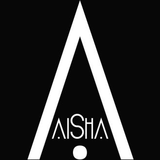 AiShA Logo bg Black