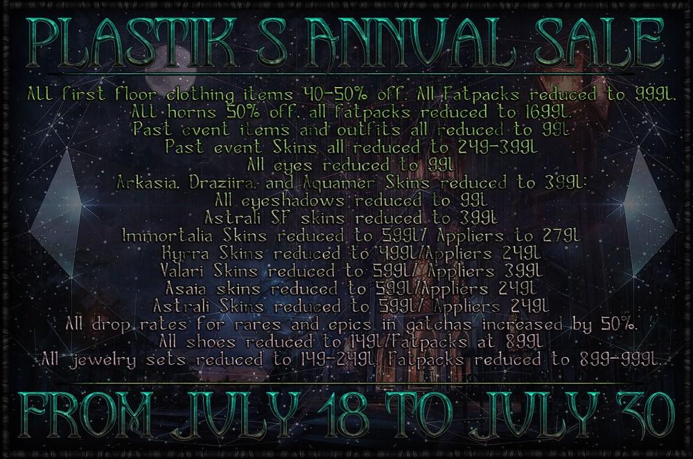 plastik-annual-sale