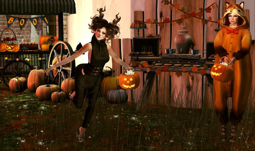 A Rustic Halloween