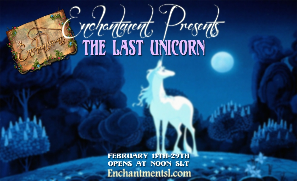 The Last Unicorn PROMO Poster