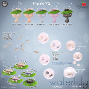 Waterlilly Gacha by Cubic Cherry