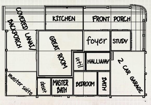 Seabreeze floor plan
